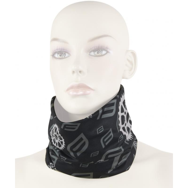 FORCE multifunkční šátek jaro/podzim, černý, UNI 903150
