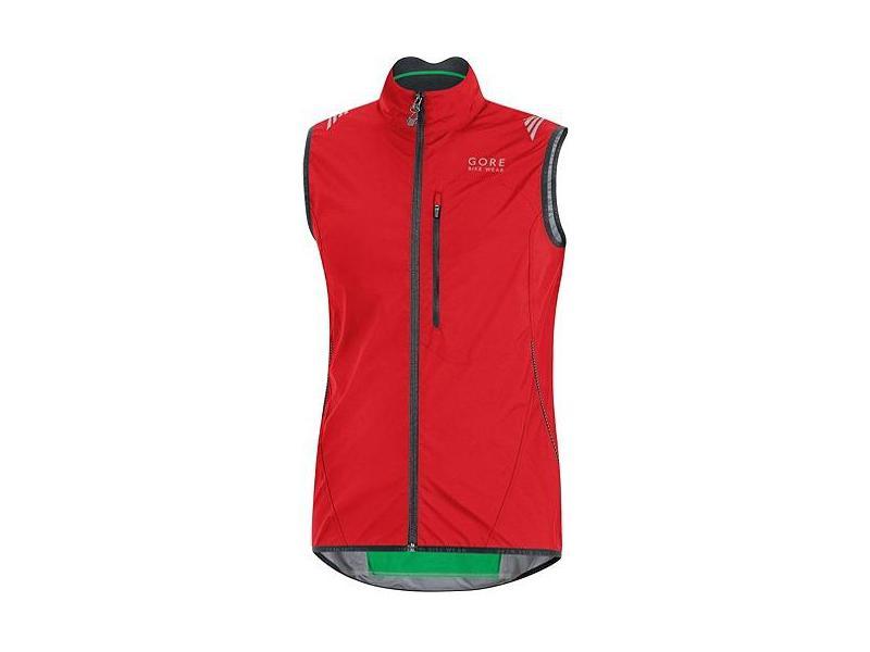 Pánská vesta GORE Element WS AS Vest - red - velikost M