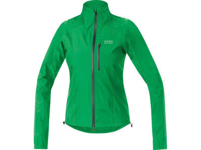Dámská bunda GORE Alp-X 2.0 GT AS Lady Jacket Fresh Green / Neon Yellow - velikost 38 (M)