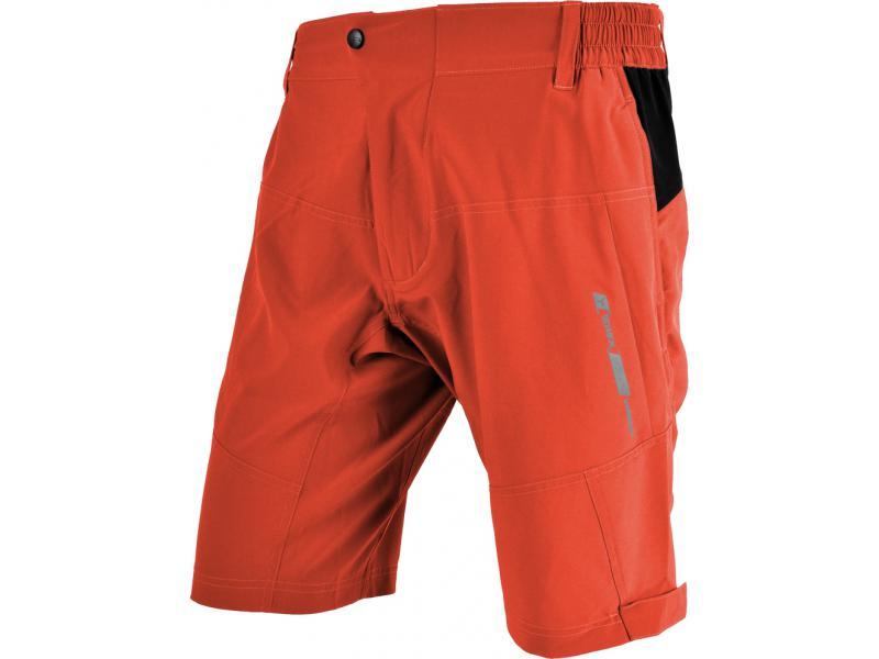 SILVINI pánské volné cyklistické kalhoty CHIECCO MP629 orange - Velikost 3XL