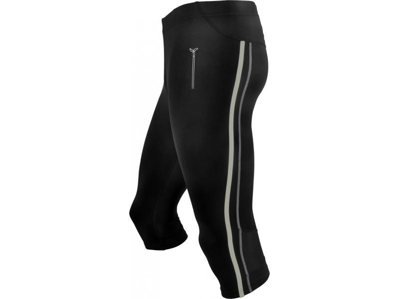 SILVINI pánské kalhoty 3/4 běžecké LAMBRO MP386 black - Velikost 3XL