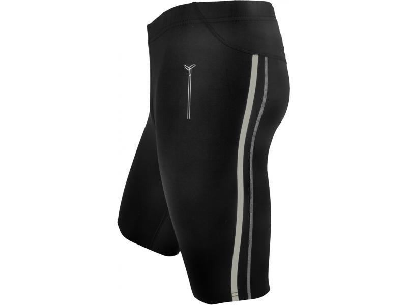 SILVINI pánské kalhoty krátké běžecké LAMBRO MP614 black - Velikost 3XL