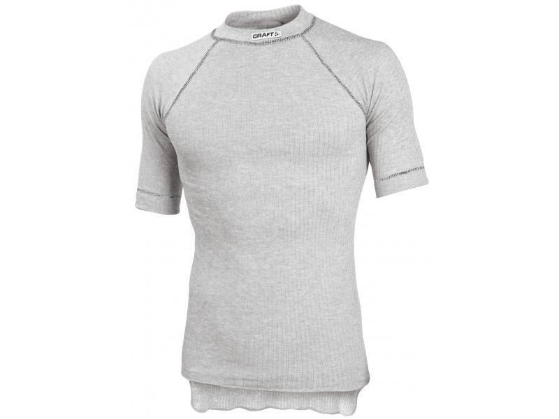 Pánské triko Craft BE ACTIVE 194002 - krátký rukáv - bílá, velikost L