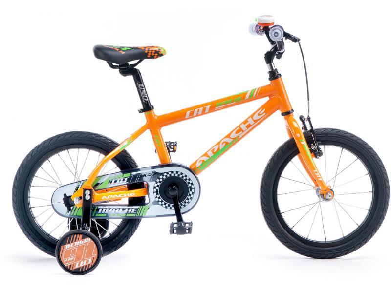Dětské kolo Apache Cat 16 2015 oranžová