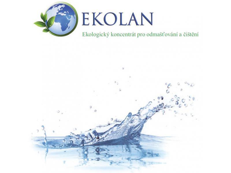 Ekolan pěnivý 2 litry - odmašťovač a čistič