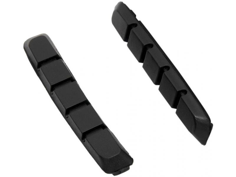 FORCE náhradní gumičky brzd, černé 70mm 423159B