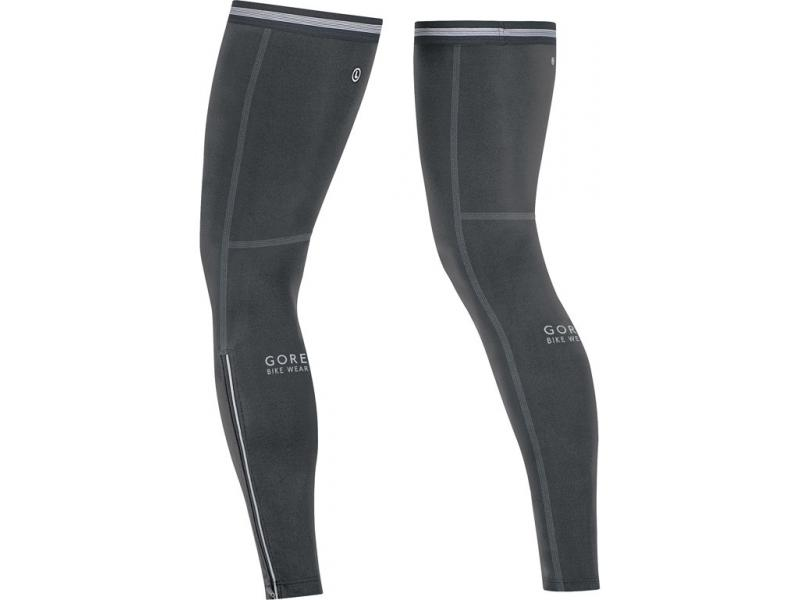 Návleky na nohy GORE Universal 2.0 Leg Warmers-black - velikost L