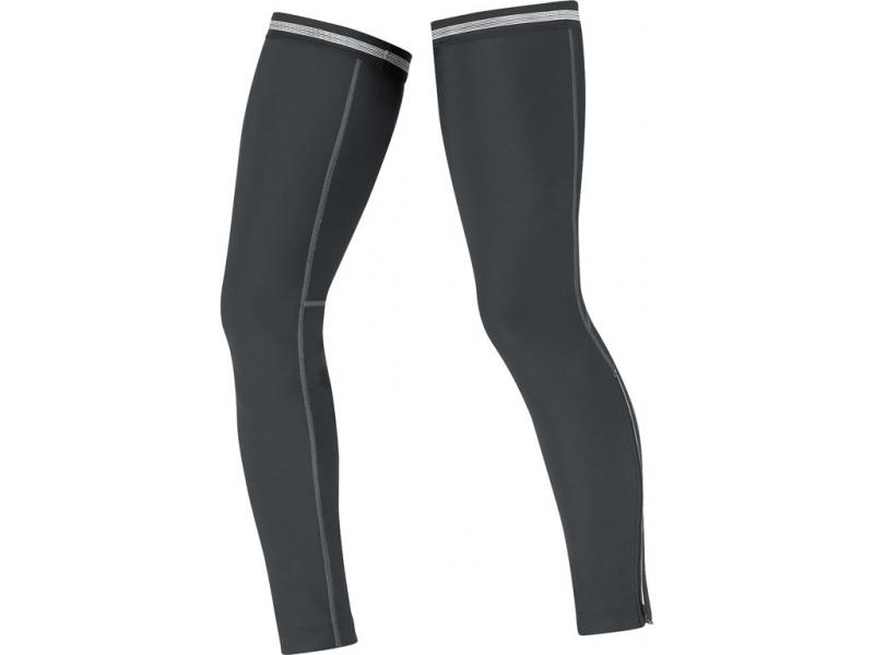 Návleky na nohy GORE Universal thermo Leg Warmers-black - velikost M