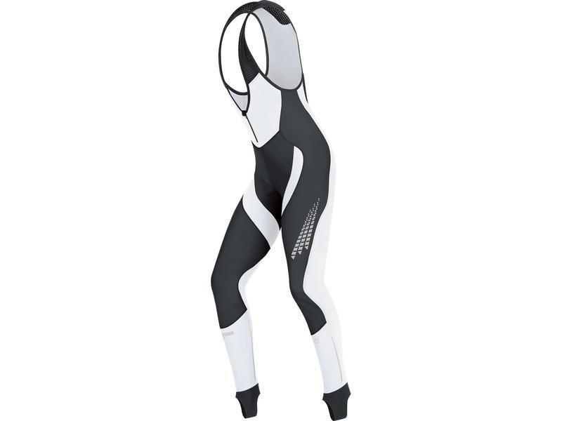 GORE Xenon 2.0 SO Bibtights+-black/ white - velikost XL