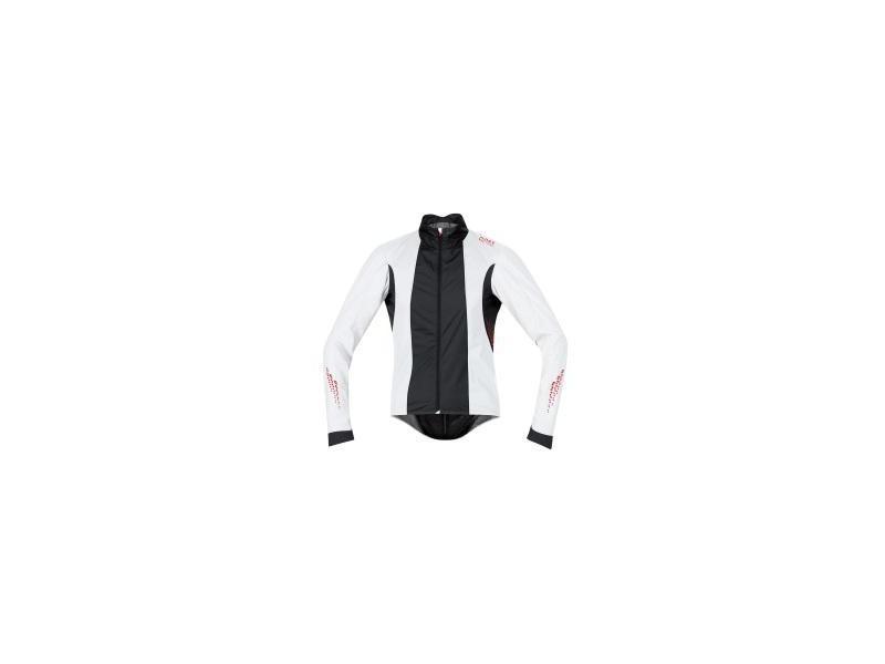 Pánská cyklistická bunda GORE Xenon 2.0 AS Jacket white/ black - velikost XL