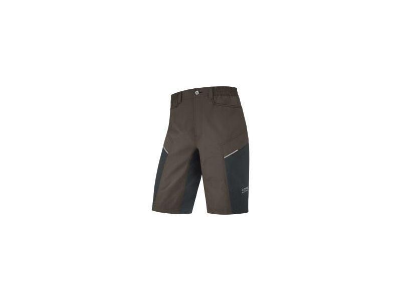 Pánské cyklokraťasy GORE Countdown 2.0 Shorts+ Earth / Black - velikost L