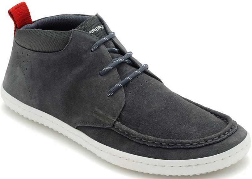 Vivobarefoot DRAKE M Suede DK Grey - velikost 41