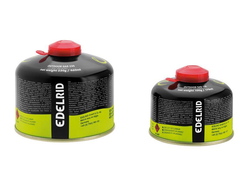 Kartuše Edelrid Outdoor Gas 100g (24 kusů) - 73307 100