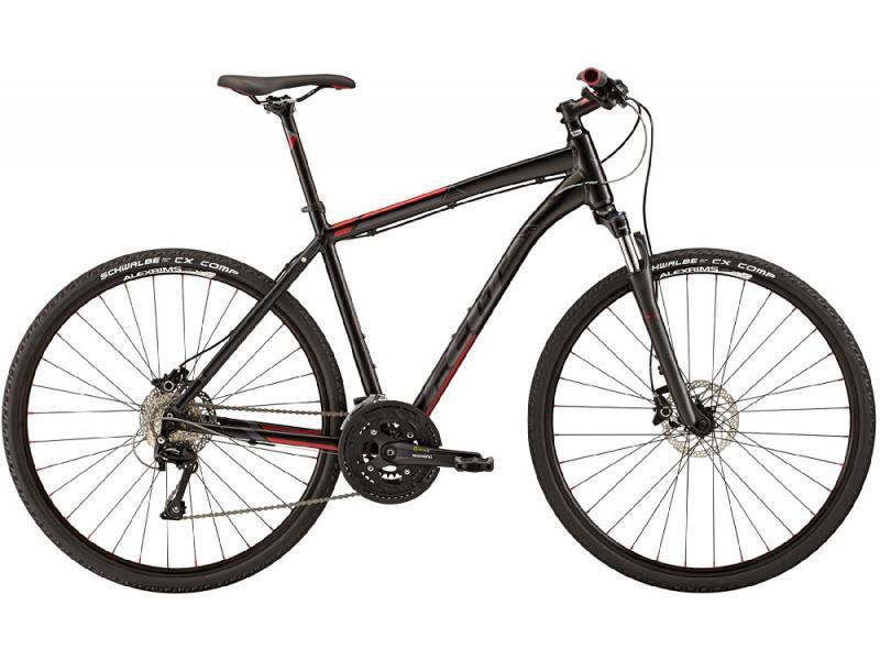 Pánské krosové kolo Felt QX80 černá 2015 - Velikost rámu 58 cm