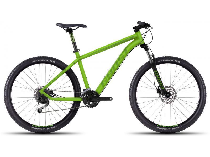 GHOST Kato 3 green/darkgreen/black 2016 (27,5) - velikost 46cm (M - 18)