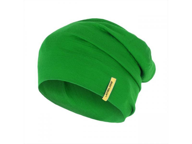 čepice SENSOR Merino Wool, zelená - velikost L
