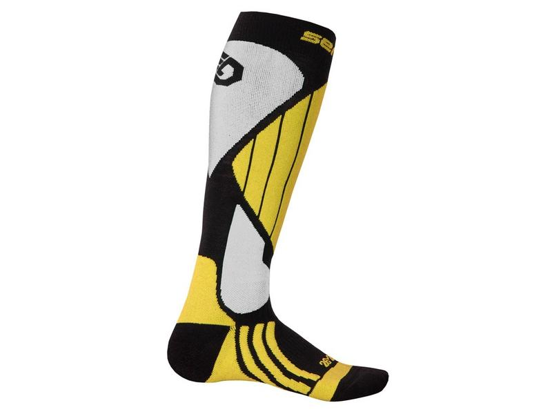 Ponožky Sensor Snow Pro, černá/žlutá/bílá - velikost 3/5