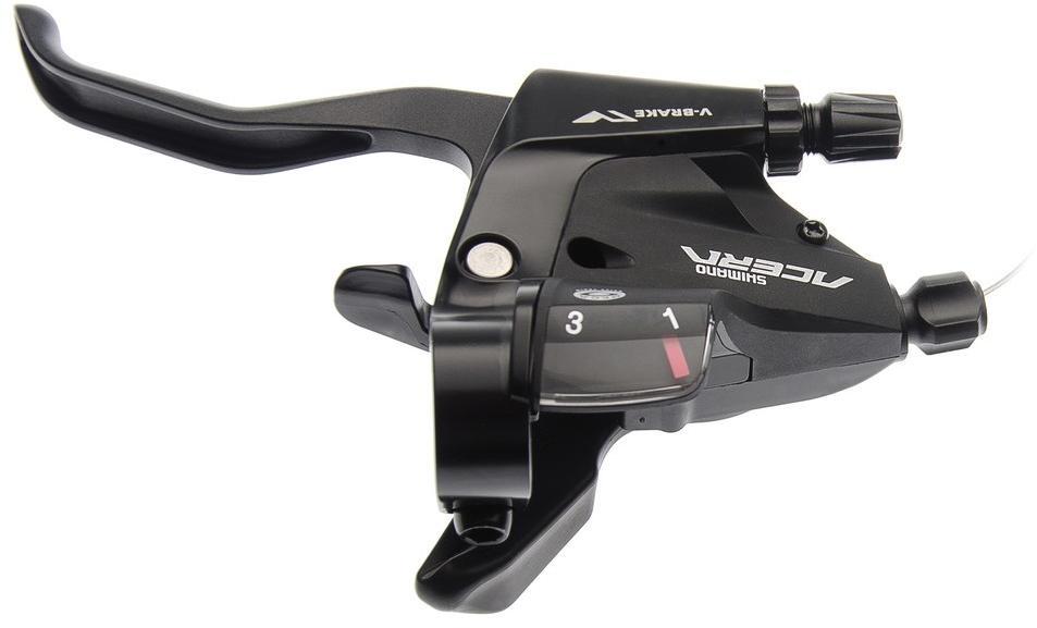 Řadící a brzdová páka Shimano Acera ST-M390 - černá, levá (3s)