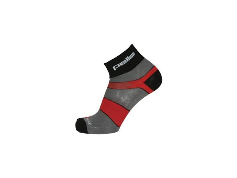 Ponožky PELLS RACE Clima - šedé - Velikost 44-45