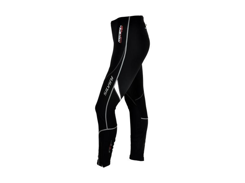 Kalhoty dámské Silvini MOVENZA WP55, celomembrána, black-white - velikost L