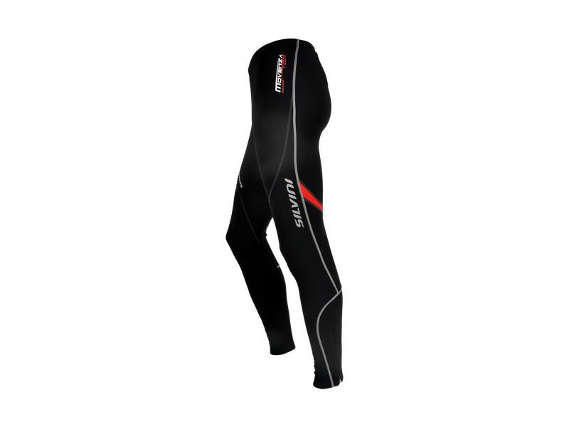 Pánské kalhoty celomembrána Silvini Movenza MP53, black-red - velikost 3XL