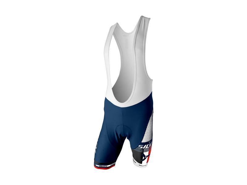 Pánské cyklistické kalhoty lacl Silvini Team MP839, navy - velikost L
