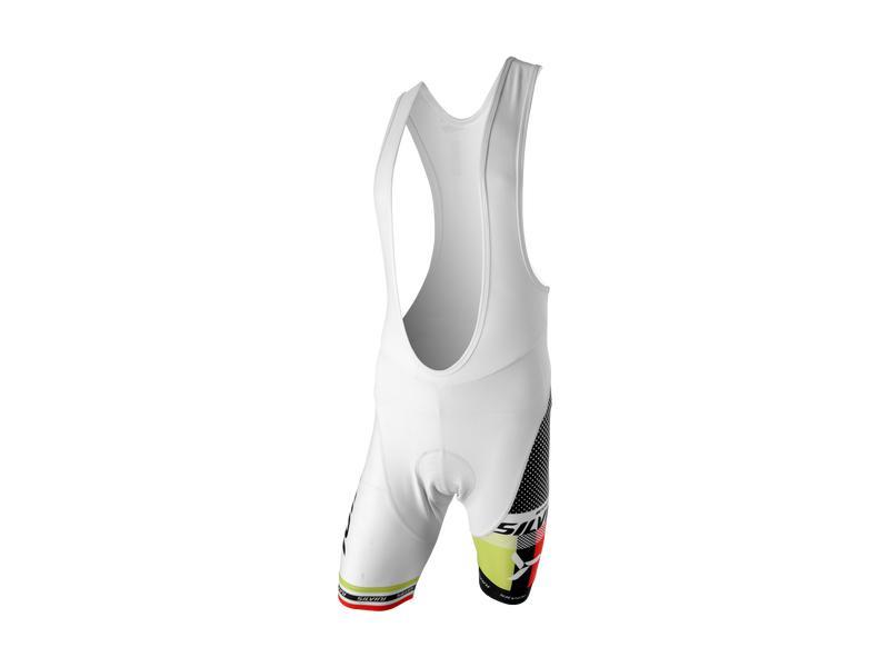 Pánské cyklistické kalhoty lacl Silvini Team MP839, white - velikost L