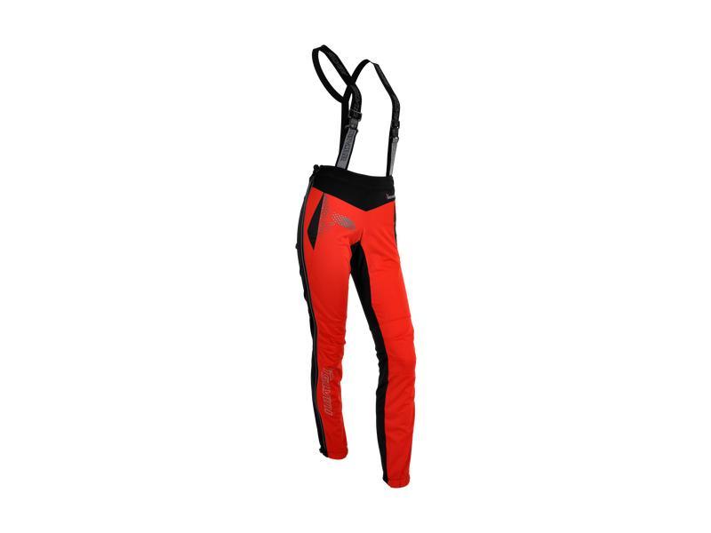 Softshell dámské kalhoty Silvini Pro Forma WP323 red - velikost M