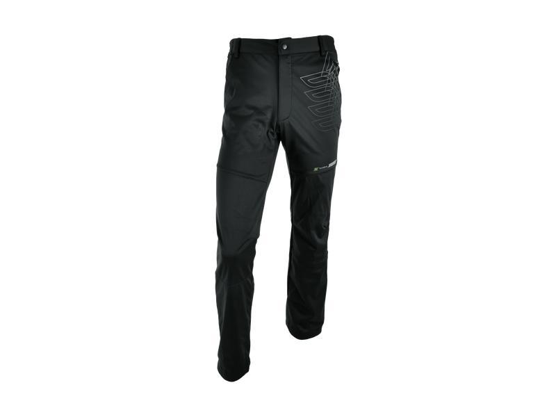 Softshell dámské kalhoty Silvini Borgo MP324 black - velikost M