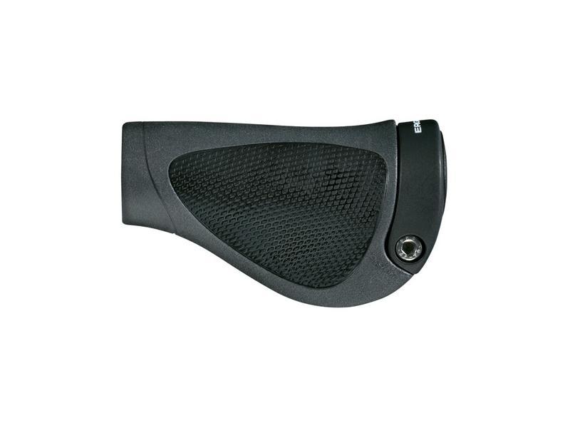 Gripy ERGON GP1 Gripshift - velikost S, černá/černá