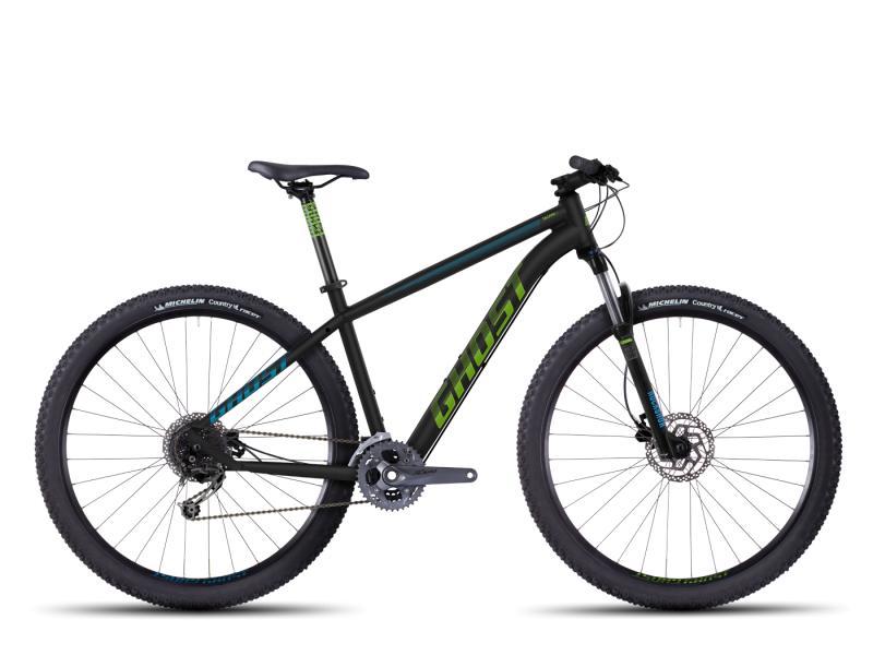 GHOST Tacana 4 black/green/blue 2016 (29) - velikost 38cm (XS - 15)
