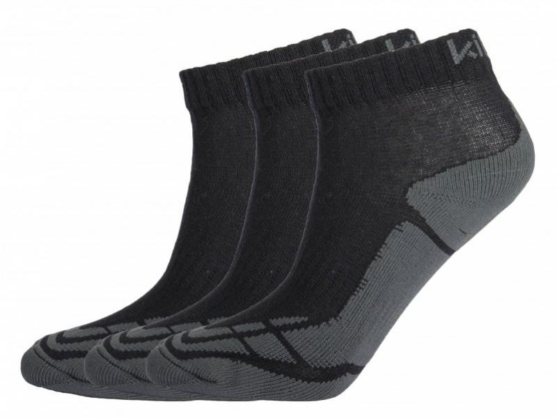 KILPI BACHUR ČERNÁ ponožky - Velikost 43-46