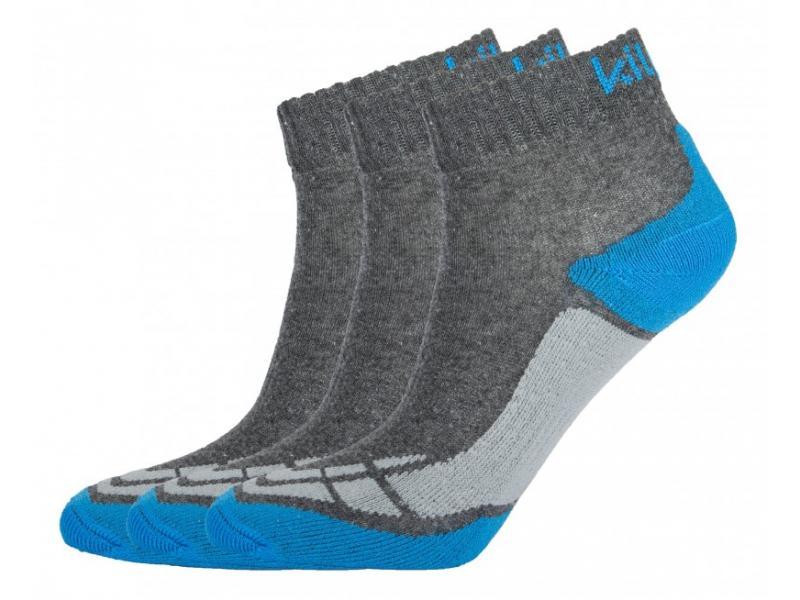 KILPI BACHUR MODRÁ ponožky - Velikost 43-46