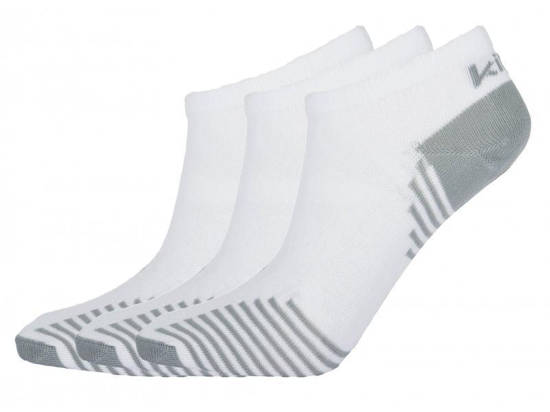 KILPI AVRAHAM bílé ponožky - Velikost 43-46