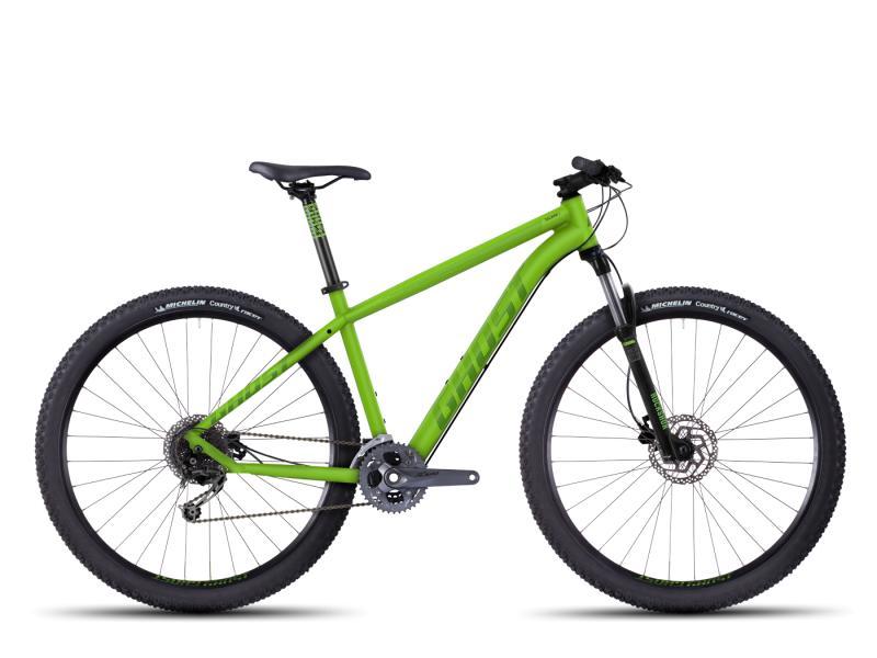 GHOST Tacana 4 green/darkgreen/black 2016 (29) - velikost 42cm (S - 16,5)