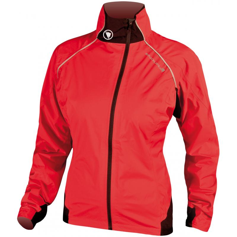 Dámská bunda Endura WOMENS HELIUM JACKET - červená - E9037R - velikost L