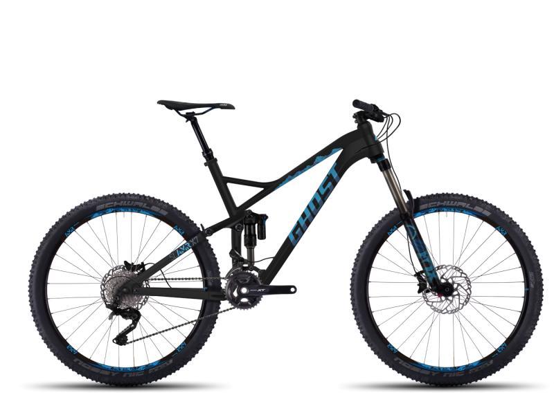 GHOST SL AMR X 7 black/blue/darkblue 2016 (27,5) - velikost 48cm (M - 19)