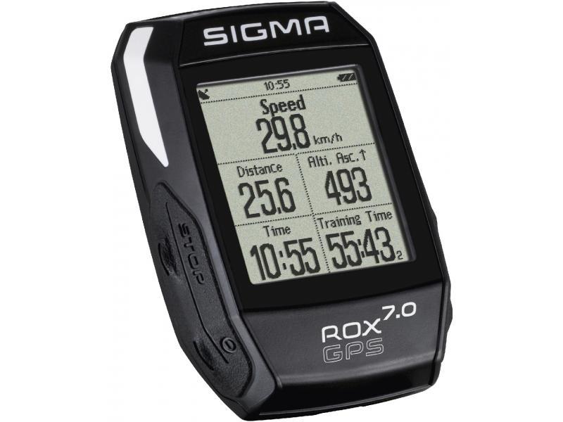 Cyklocomputer Sigma Rox 7.0 - GPS, černá