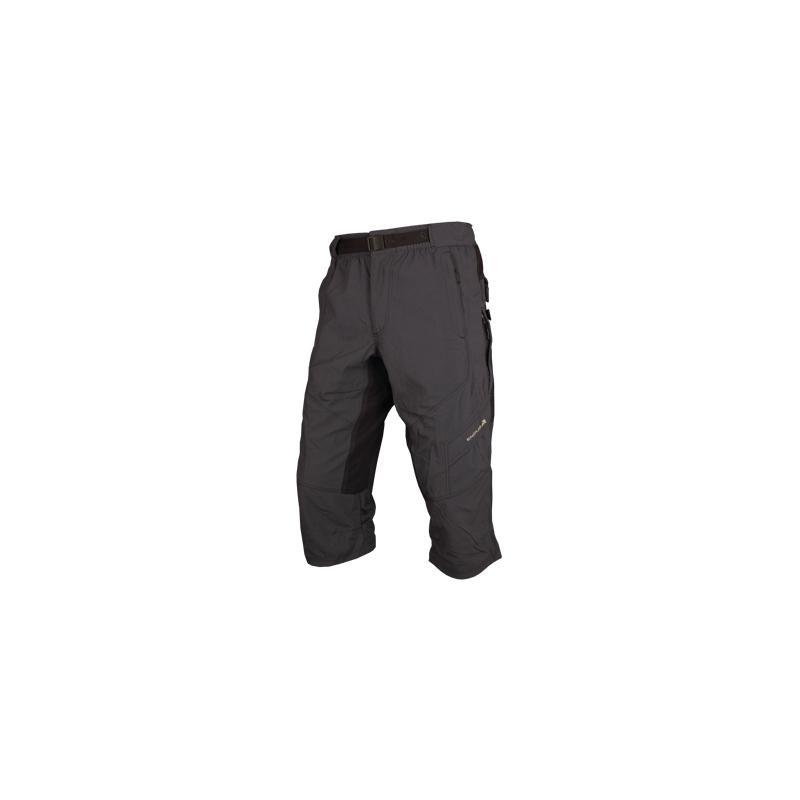 Pánské volné kalhoty Endura Hummvee 3/4 s vložkou- černé - E8024 - velikost S