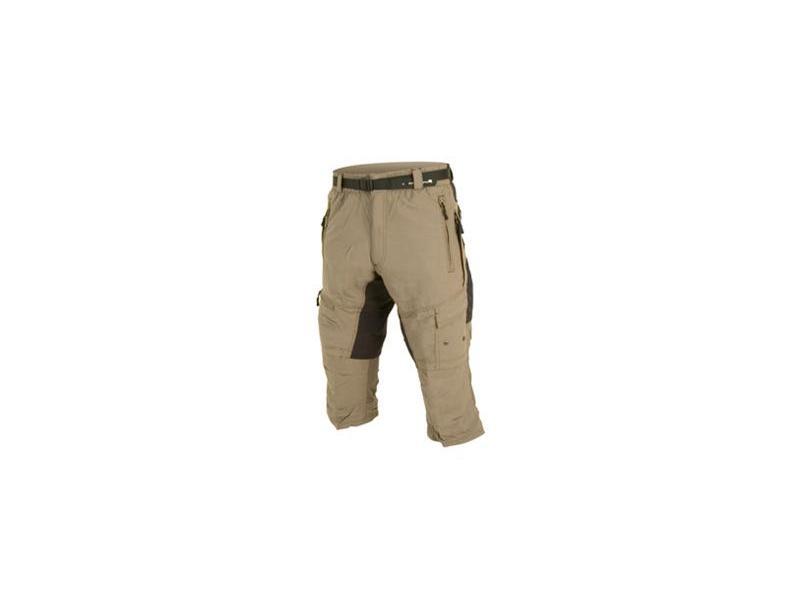 Pánské volné kalhoty Endura Hummvee 3/4 s vložkou- zelené - E8024G - velikost S