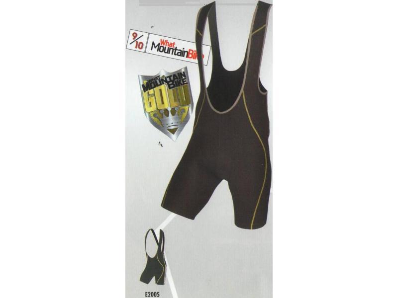 Pánské cyklistické krátké kalhoty Endura MT500 Bibshorts - se šlemi a s vložkou - černé - E2005 - velikost 2XL