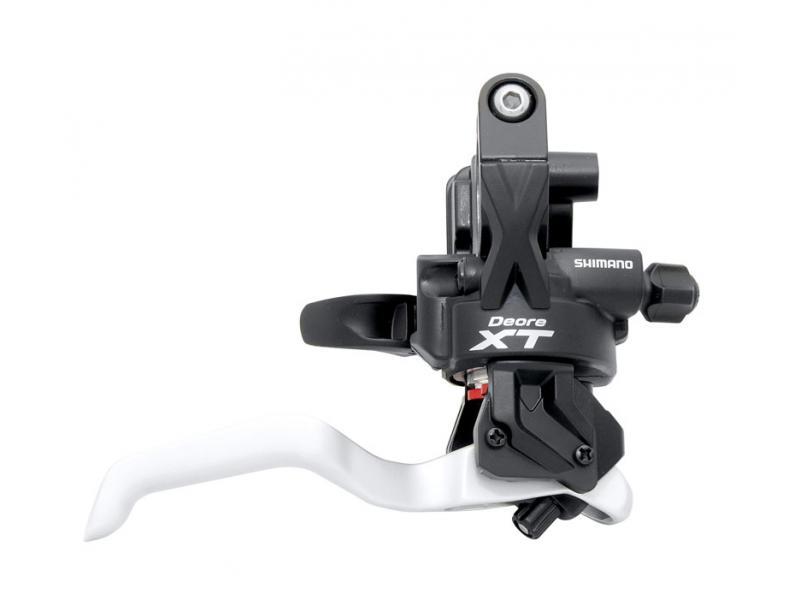 Řadící a brzdová páka SHIMANO XT ST-M775 Dual Control - levá, pro 3 sp. převodník