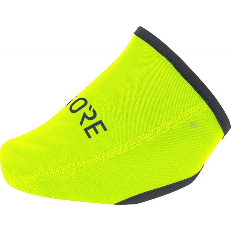 Návleky Gore C3 WS - na špičku tretry, žlutá neon - velikost 36-41
