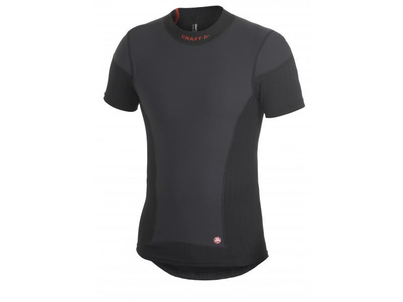 Pánské triko Craft BE ACTIVE EXTREME Windstopper - s krátkým rukávem 193892-2999 - barva černá, velikost S