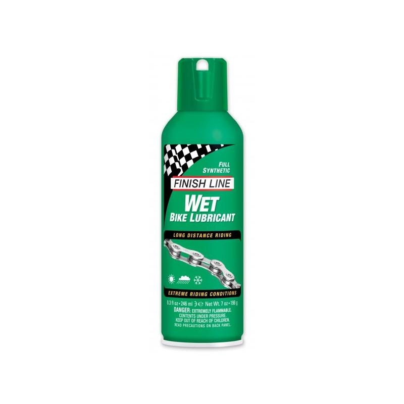 Olej Finish Line Wet - sprej 246 ml