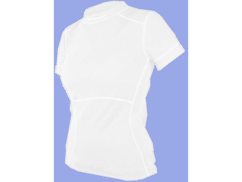 Dámské triko s krátkým rukávem SENSOR DOUBLE FACE EVO bílé - velikost L