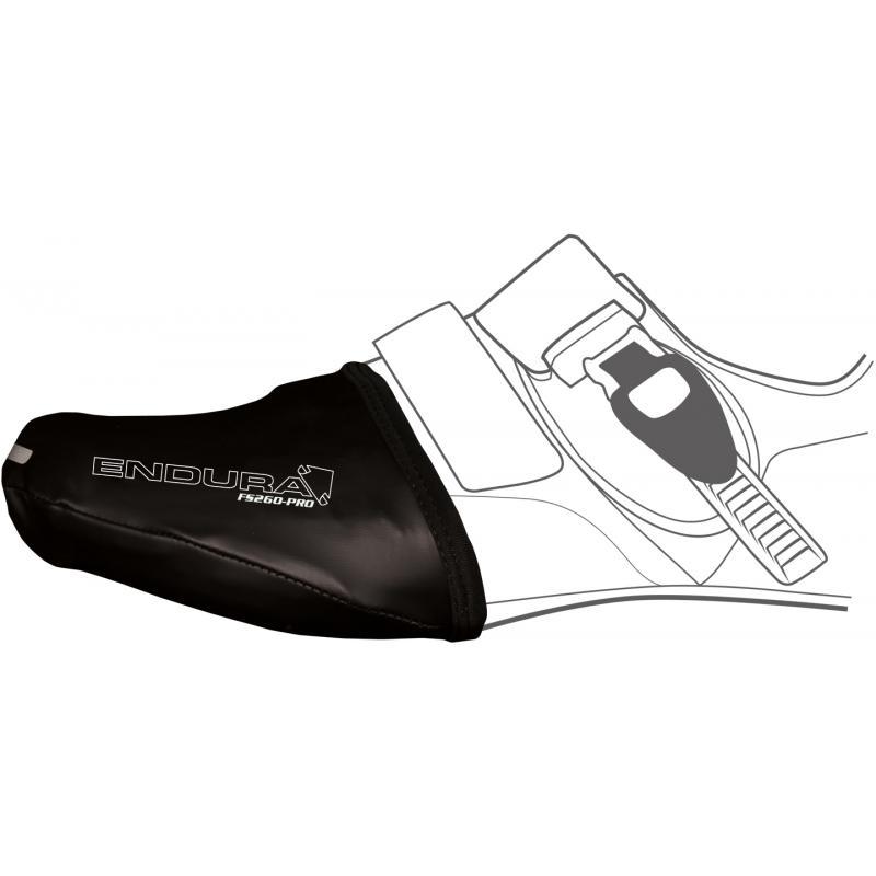 Návleky na špičku tretry Endura FS260-Pro Slick E0073 - Black