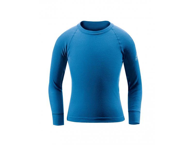 Dětské thermo triko Vaude Kids Thermo Shirt LS 09525300 - modré - velikost 116