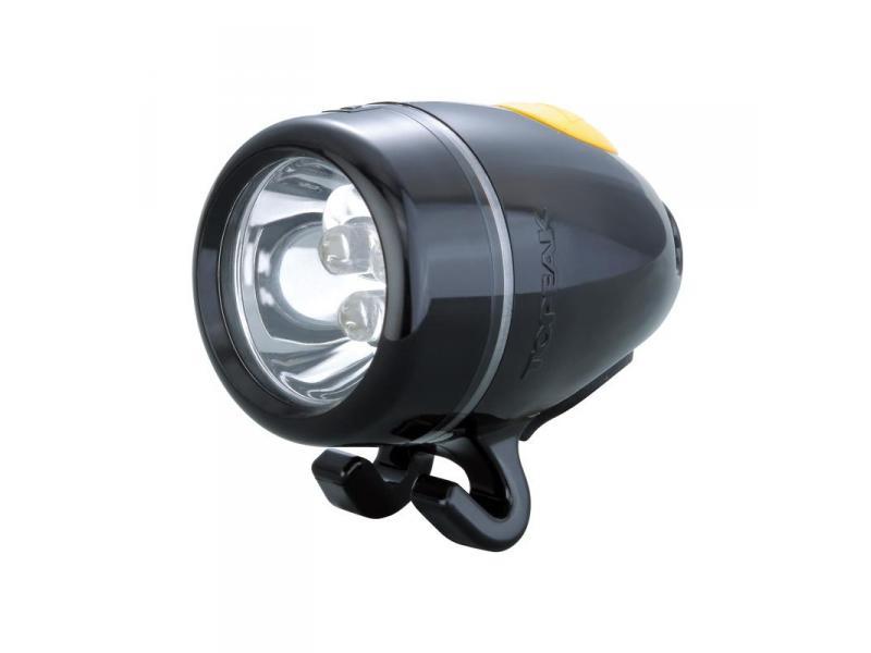 Přední světlo TOPEAK WHITE LITE II černá TMS036B