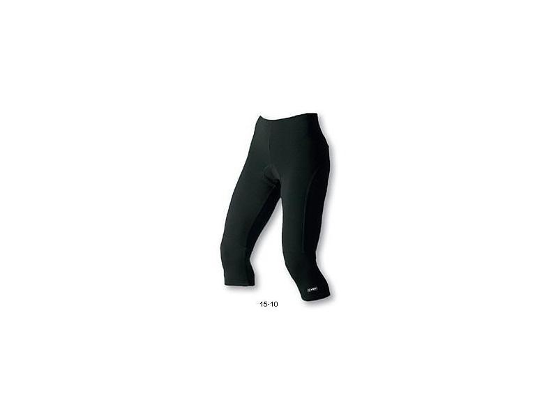 3/4 kalhoty Etape Lady 2012 - dámské, elastické, černé - velikost M